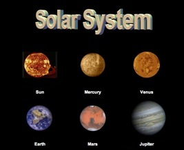 Solar System Planets Kids