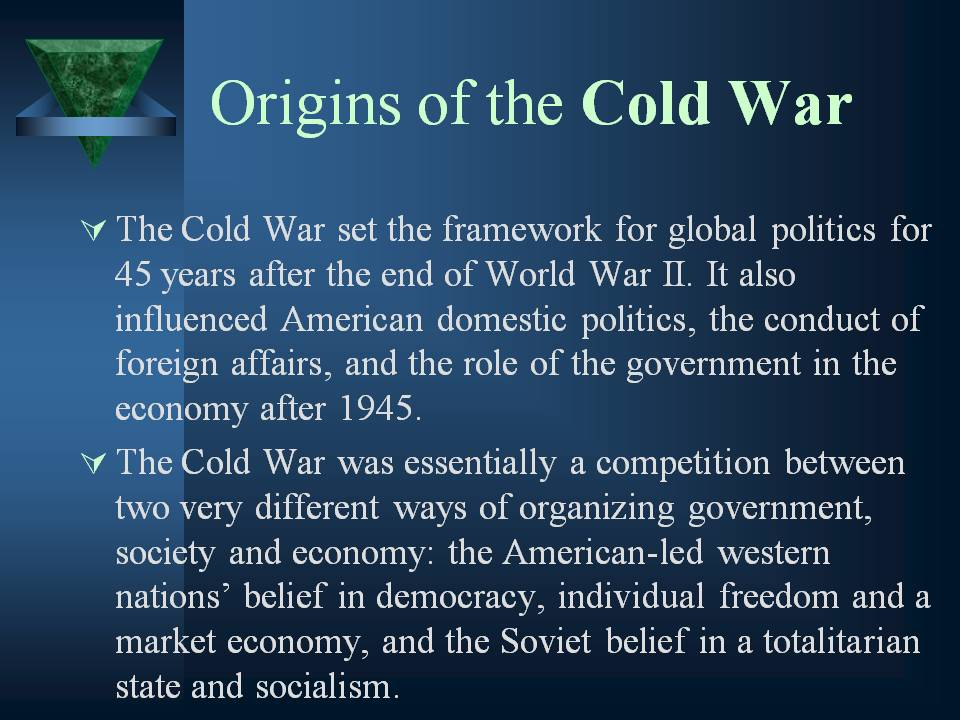 affects of the cold war essay