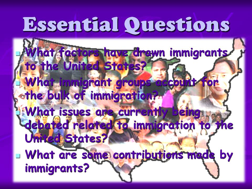 immigration issues in modern america Questions and answers is a tool designed to enhance uscis' adjudications of certain employment-based immigration petitions and applicationsvibe use vibe questions and answers uscis issues guidance memorandum on establishing the employee-employer relationship in h-1b petitions.