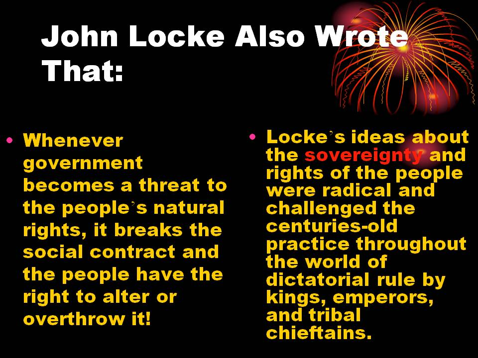john locke social contract theory