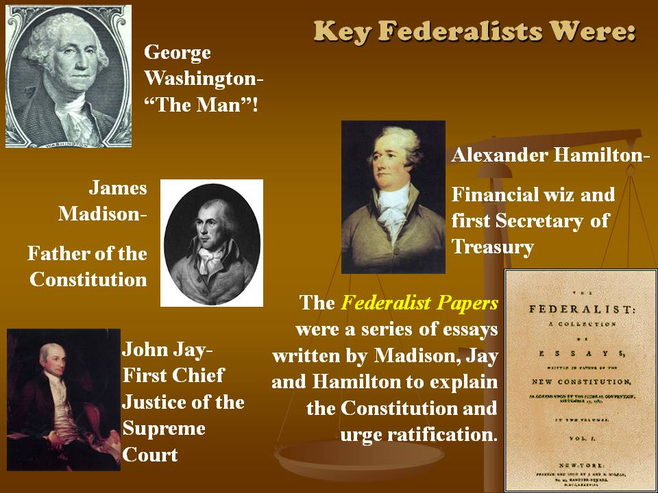 essays urging ratification