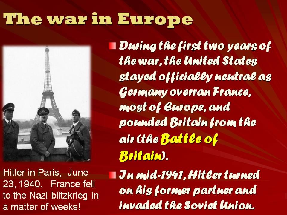 first attack in world war 2