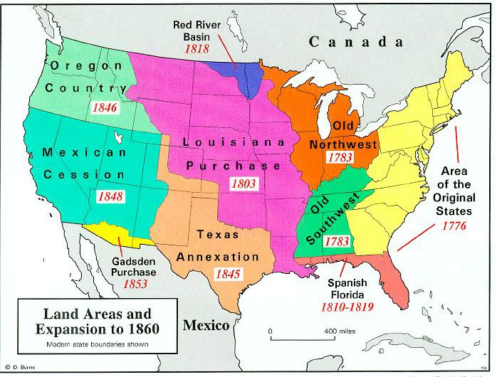 a history of the united states expansionism The history of the united states ii: 1865 to the present exam covers material that is usually taught in the second semester of what is often a two-semester course in united states history the exam covers the period of united states history from the end of the civil war to the present, with the majority of the questions being on the twentieth.