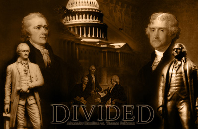 jeffersonian republicans vs federalists Widely considered to be the first american political party, the federalist party was  founded  the democratic-republican party, also known as the jeffersonian.
